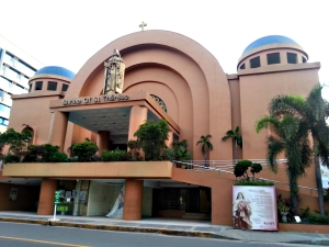 how to go to Shrine of St Therese church Newport City Pasay