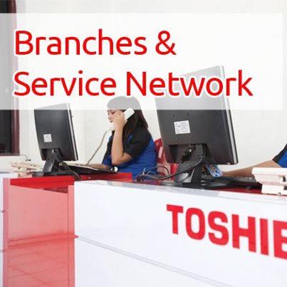 ... Indonesia, berikut adalah daftar jaringan service resmi Toshiba