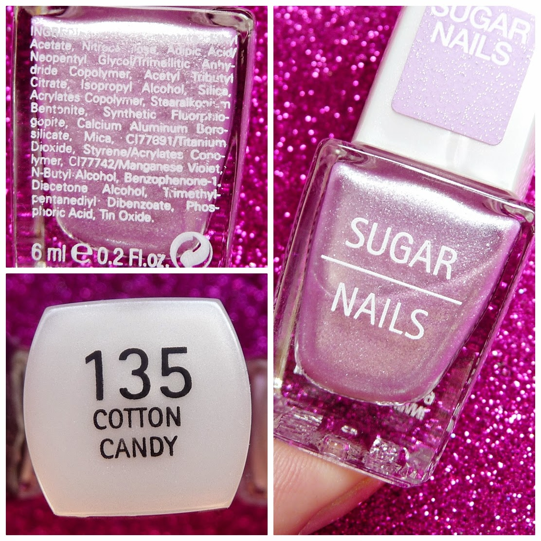 Cotton Candy Nail Polish La Carte: Envuelta En Crema: Esmaltes Y Peel Off Base Para Uñas De
