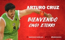 Arturo Cruz sigue los pasos de Mangas y jugará en Basket Navarra
