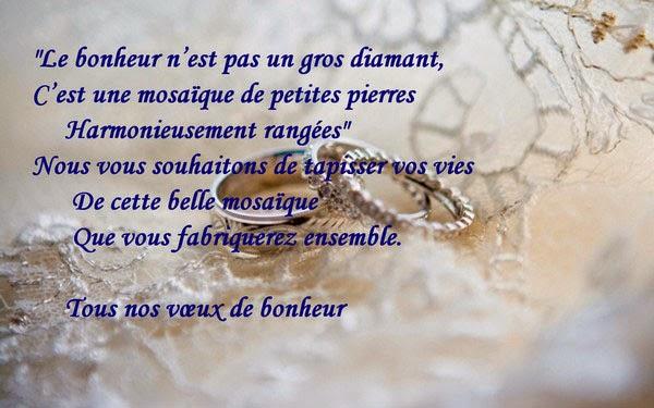 modle carte flicitation mariage - Poeme Felicitation Mariage