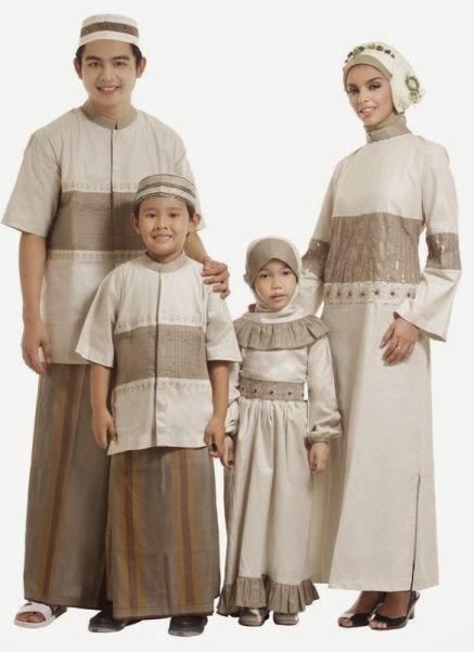 10 Model Baju Muslim Keluarga Paling Populer