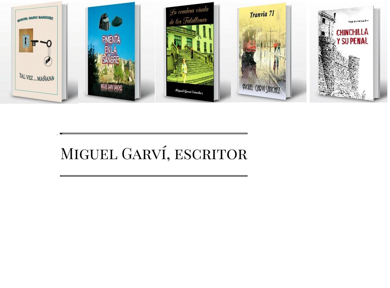 Miguel Garví, escritor
