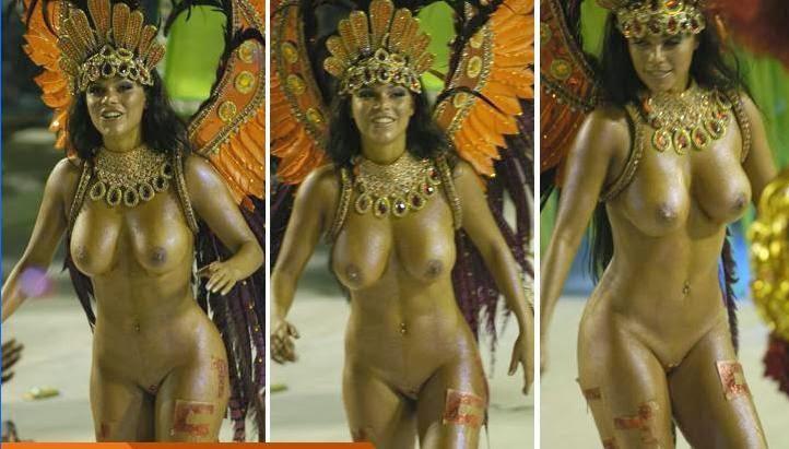 Бразильский карнавал голая танцовщица
