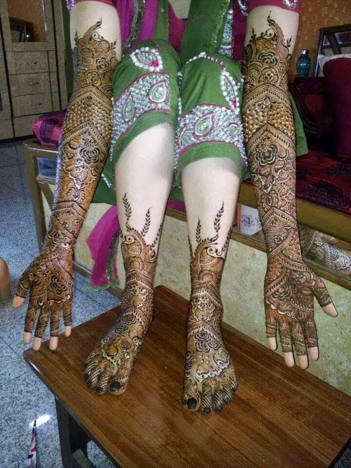 Feet Mehndi Mehndi Wallpapers Images : Dulhan mehndi design images hd makedes