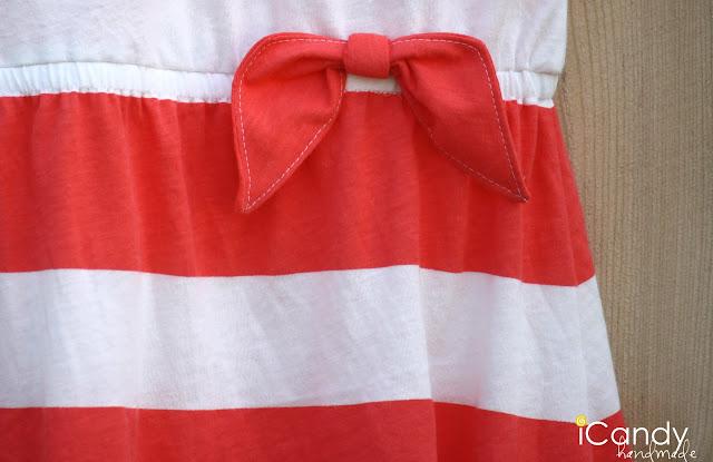 Как сшить простое платьице для ребенка.
