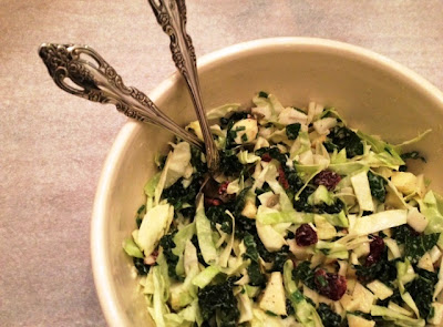 Winter Slaw With Apples, Dried Cherries And Pecans Recipe