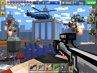 Pixel Gun 3D v10.0.6 MOD APK+DATA