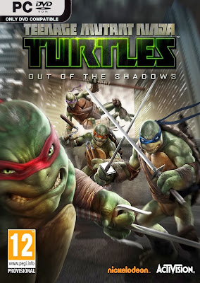 Torrent Super Compactado Teenage Mutant Ninja Turtles: Out of the Shadows PC