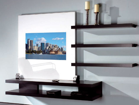 Latest lcd tv furniture designs ideas an interior design Tv panel furniture design