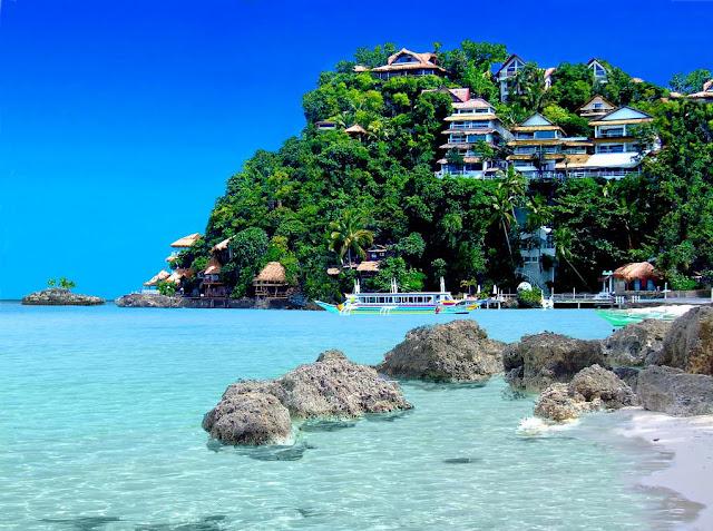 Beautiful Place Boracay Island Philippines