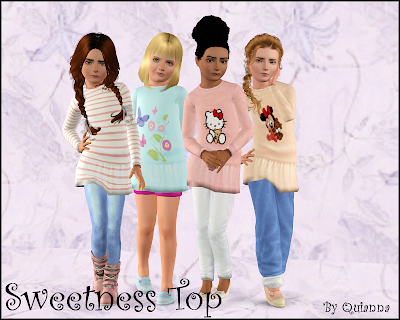 The Sims 3 clothing for child female