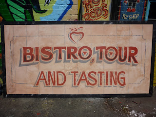 Merridale Cider cobble Hill hand painted signage North America traditional signage dobell designs beer tasting