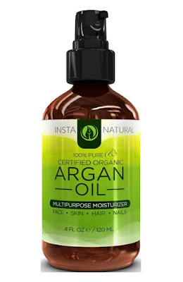 InstaNatural's Pure USDA & ECOCERT Certified Organic Argan Oil