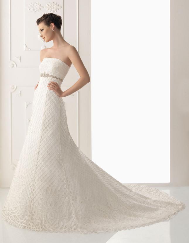 Alma novia 2012 bridal collection the dress of the week for Alma novia wedding dress