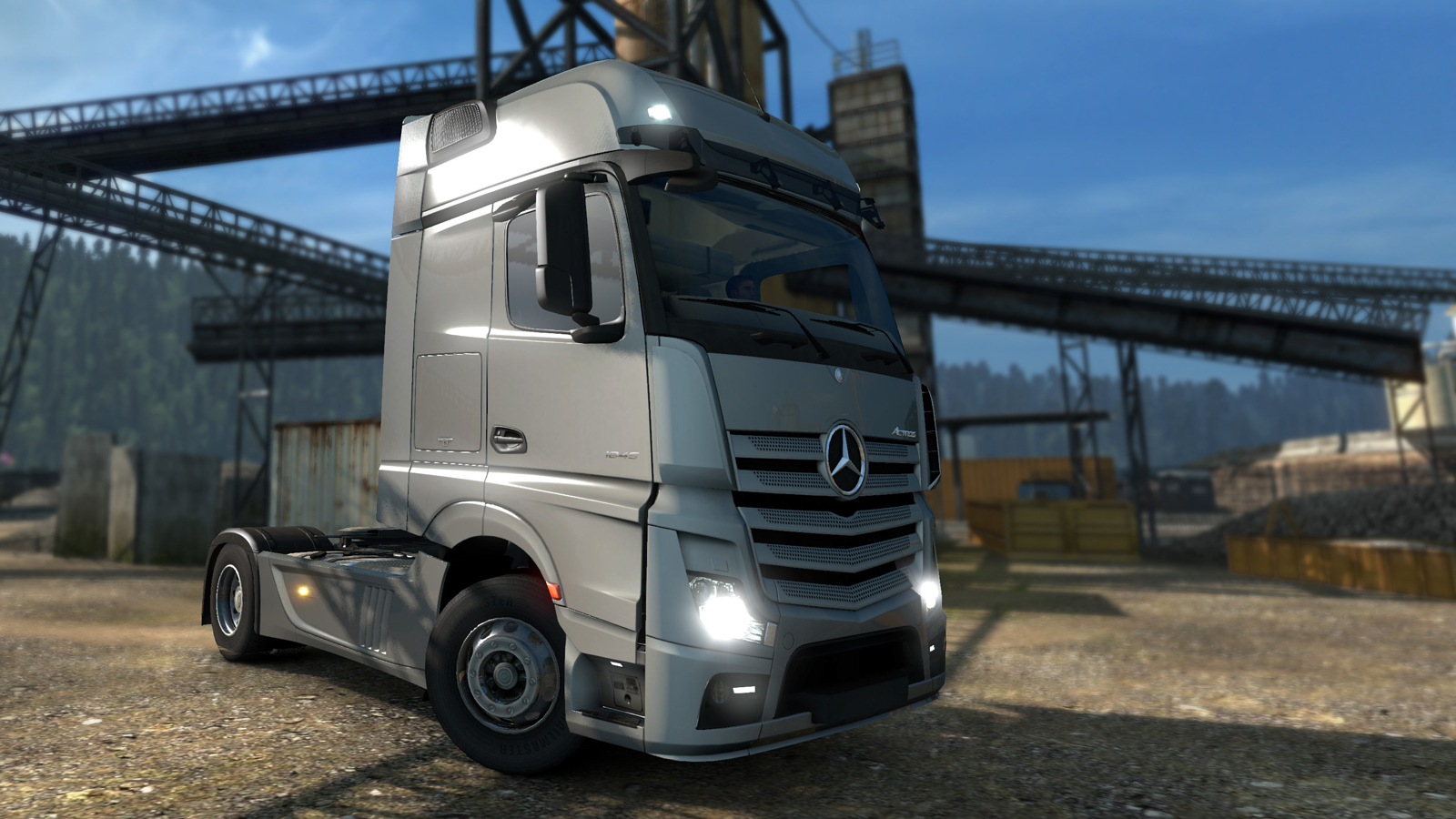 Scs software 39 s blog mercedes benz joining the euro truck for The new mercedes benz truck