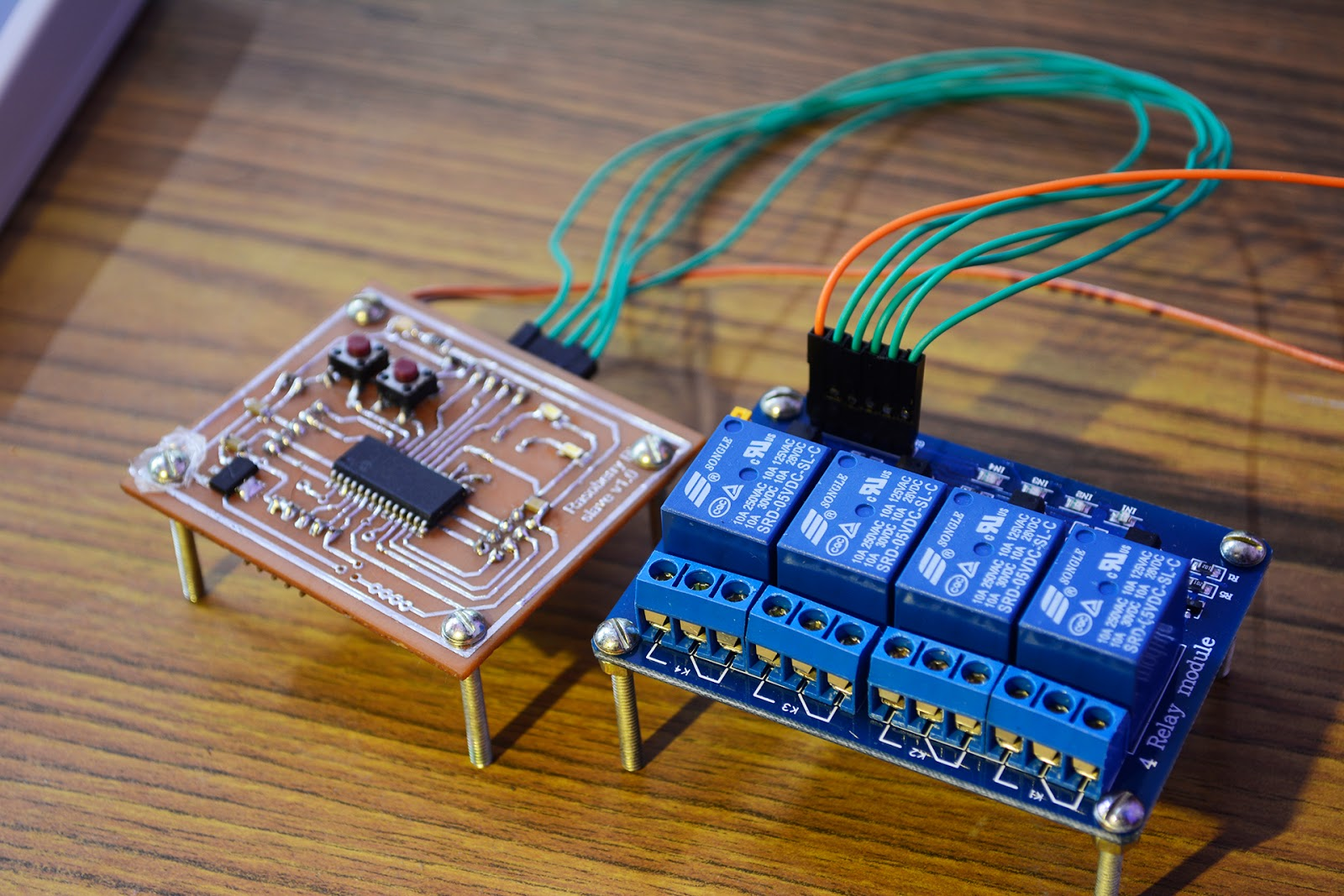 Net Embedded Sys Projects Interfacing Relay With Pic Microcontroller Using Uln2003 I Recommend Ready To Use Simple Boards It Is Very Cheap And Easy Get Wont Cost You More Than 2usdat Least In Our Area