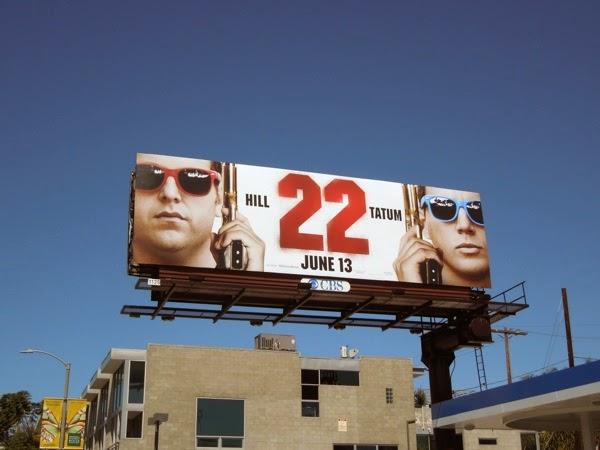 22 Jump Street movie billboard