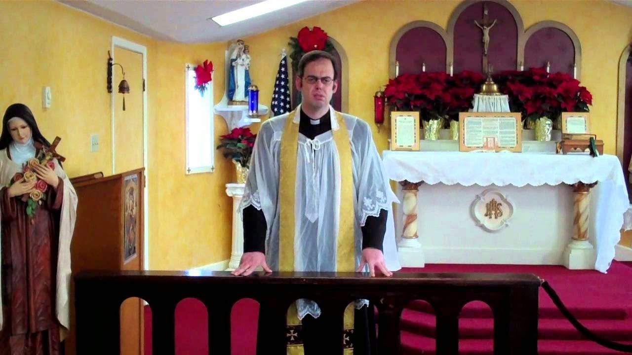 TENEMOS A UN MAZÓN SENTADO EN LA SILLA DE PEDRO -SERMONES DEL PADRE JUAN ANTONIO IGLESIAS