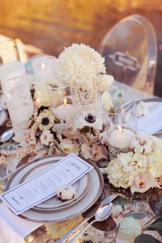 Lamb blonde wedding wednesday blush pink ivory
