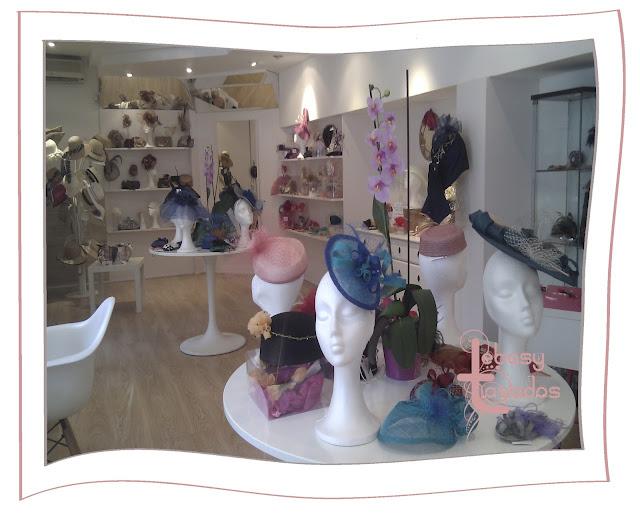 Los tocados Lebasy Tocados en la tienda The Pink Carpet