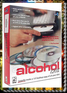 Free Download Alcohol 120% Retail v2.0=
