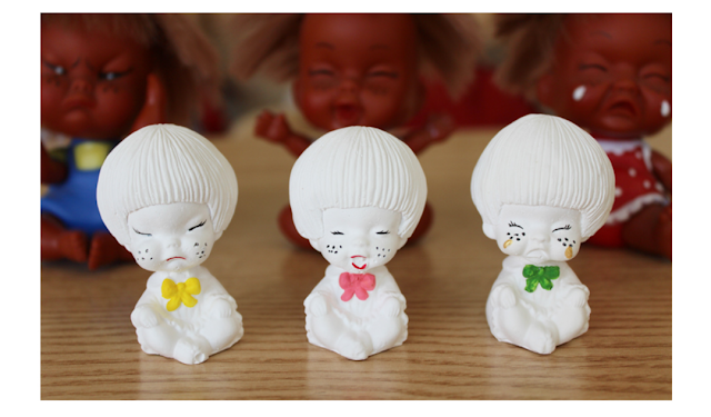 [Joypainting] Plaster Diffuser Air Freshener White Ugly Sisters Set 3pcs