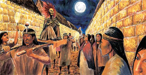 Tras la pista de la tumba de Atahualpa