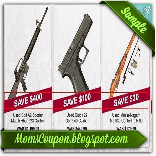 Gander mountain coupons firearms