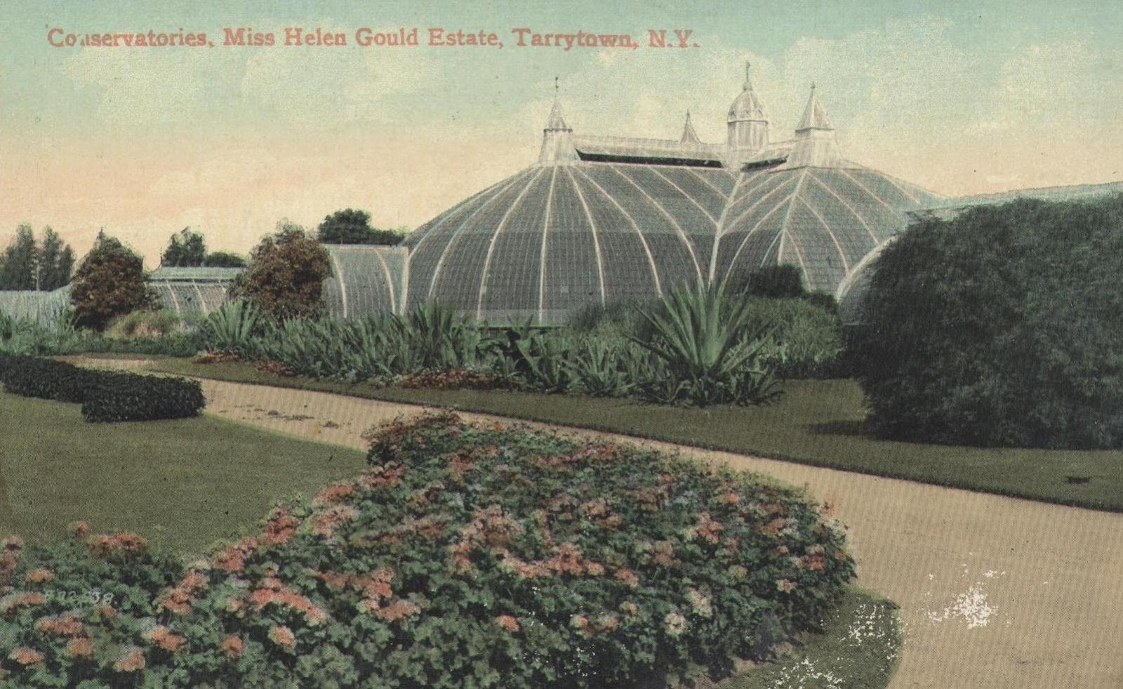 The greenhouse gold coast - The Greenhouse At The Jay Gould Estate Lyndhurst In Tarrytown New York Was At One Time Considered The Largest And Best Equipped Greenhouse In America