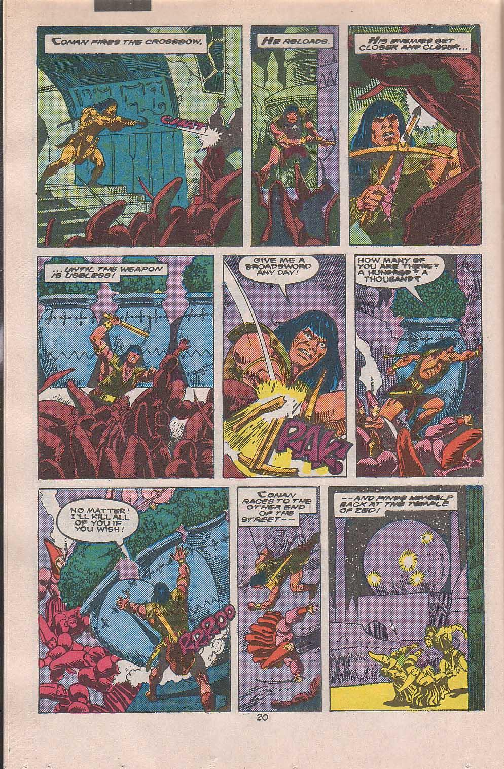 Conan the Barbarian (1970) Issue #216 #228 - English 17