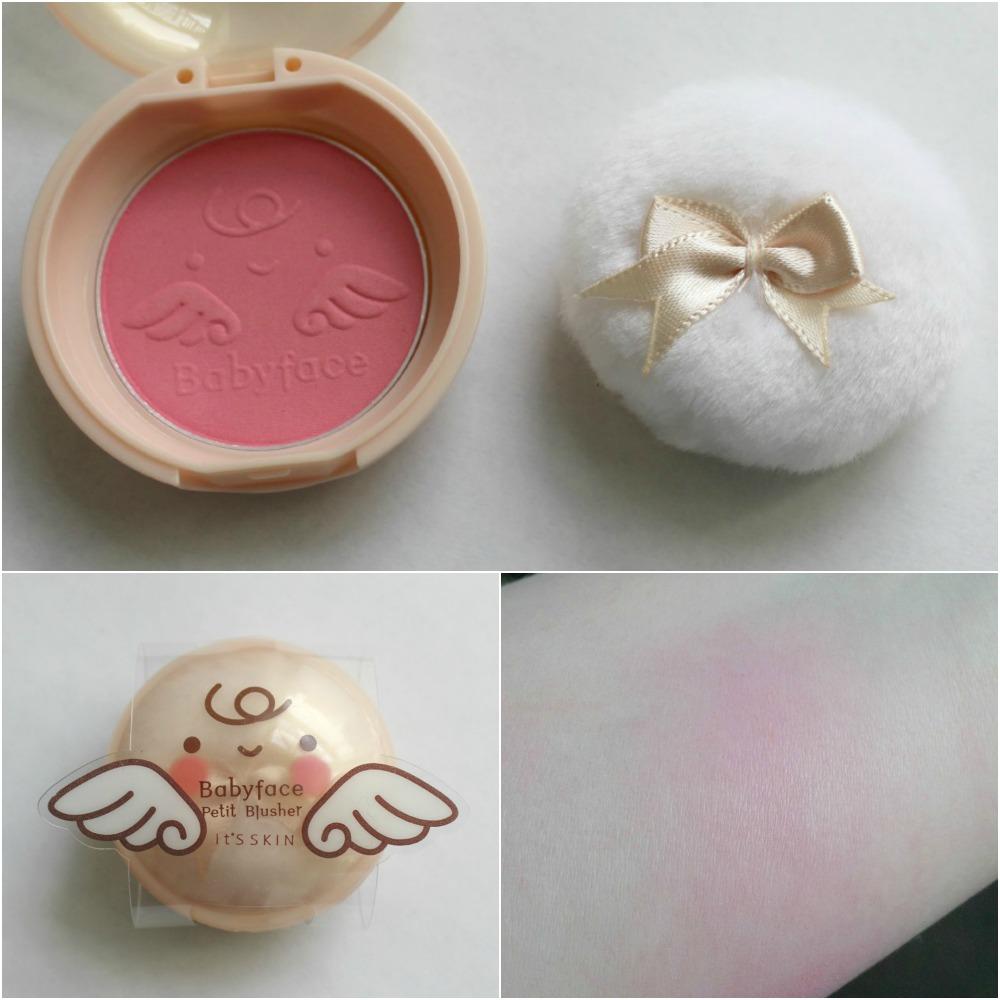 It's Skin Babyface Petit Blusher 03 Romantic Rose Memebox USA shop
