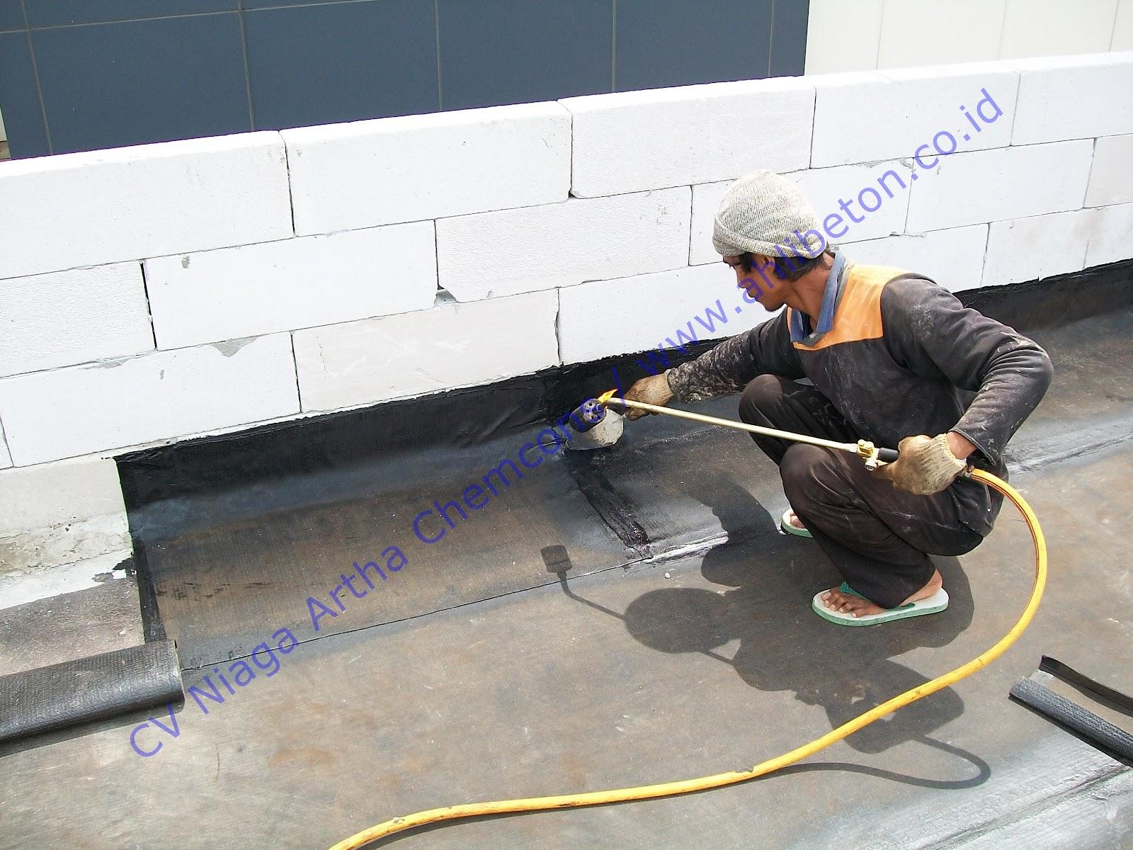 Waterproofing Membrane Bakar Untuk Atap