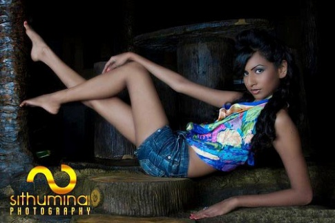 Srilanka Upcoming actress Nilukshi Amanda Silva