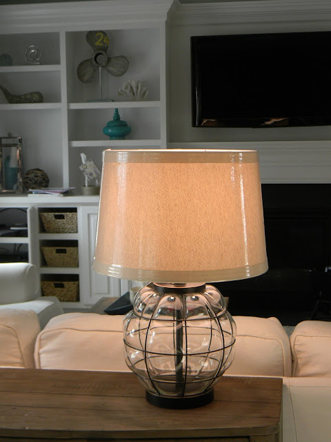 Seaside Interiors: Pottery Barn Knock Off Lamps
