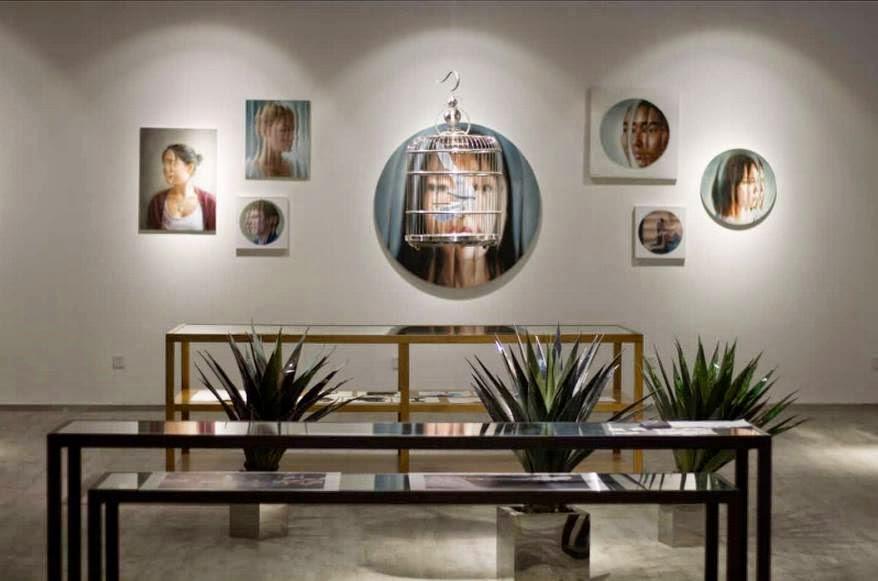 Imagen de una exposición en Pantocrator Gallery