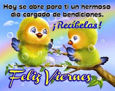 Feliz Viernes Para Todos....