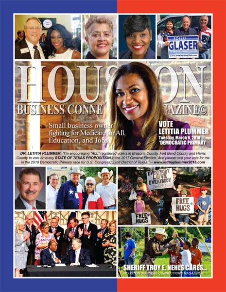VOTE TUESDAY, NOVEMBER 7, 2017 EDITION OF HBC MAGAZINE© FEATURING DR. LETITIA PLUMMER