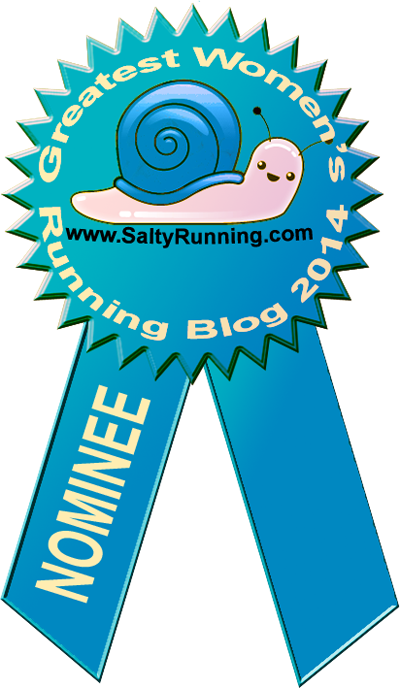 Voted 2014's Best Women's Running Blog!!