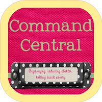 Create your own command central to help keep your family organized. #CommandCentral #organize #RealCoake