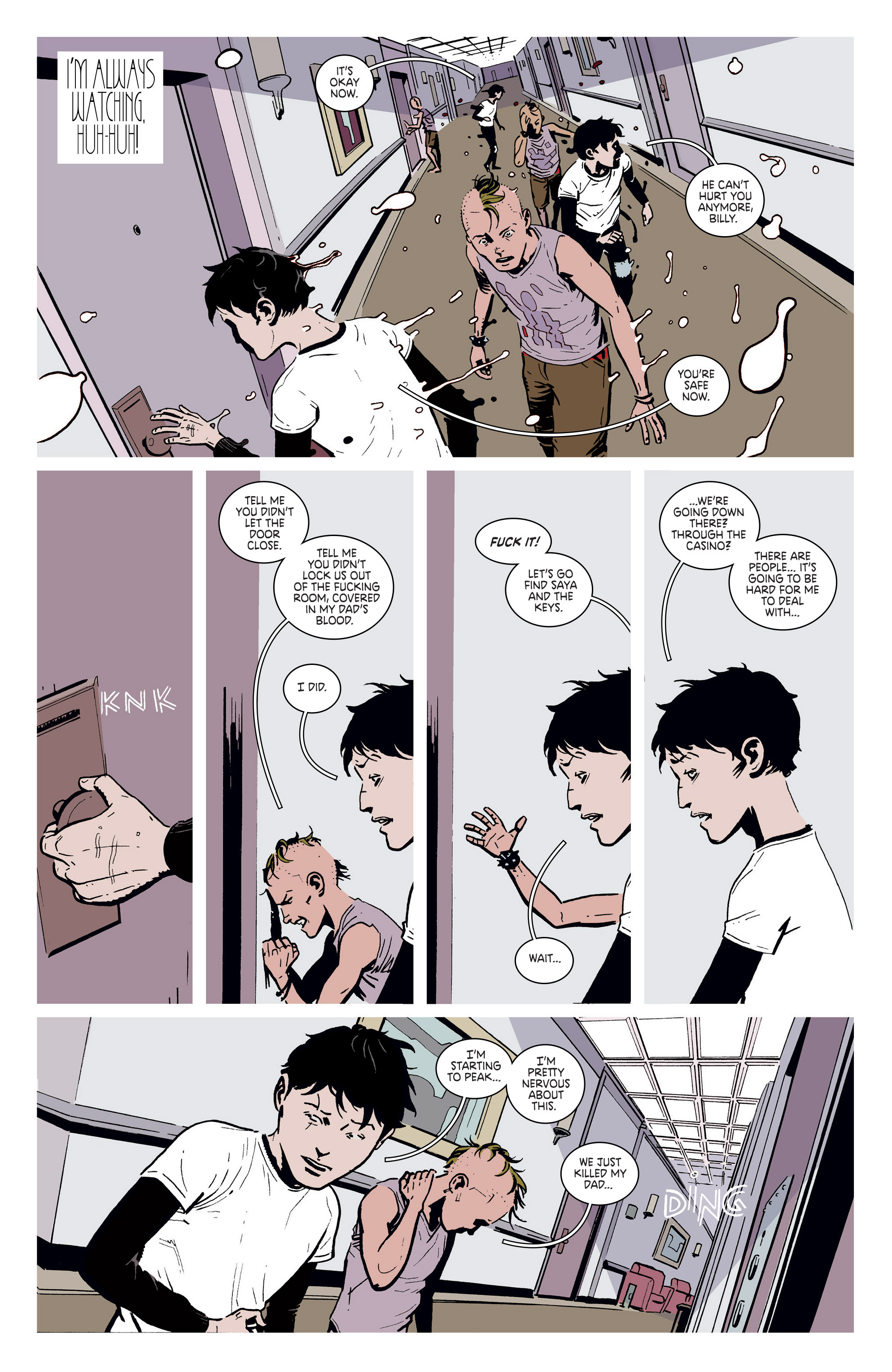Read online Deadly Class comic -  Issue #5 - 10