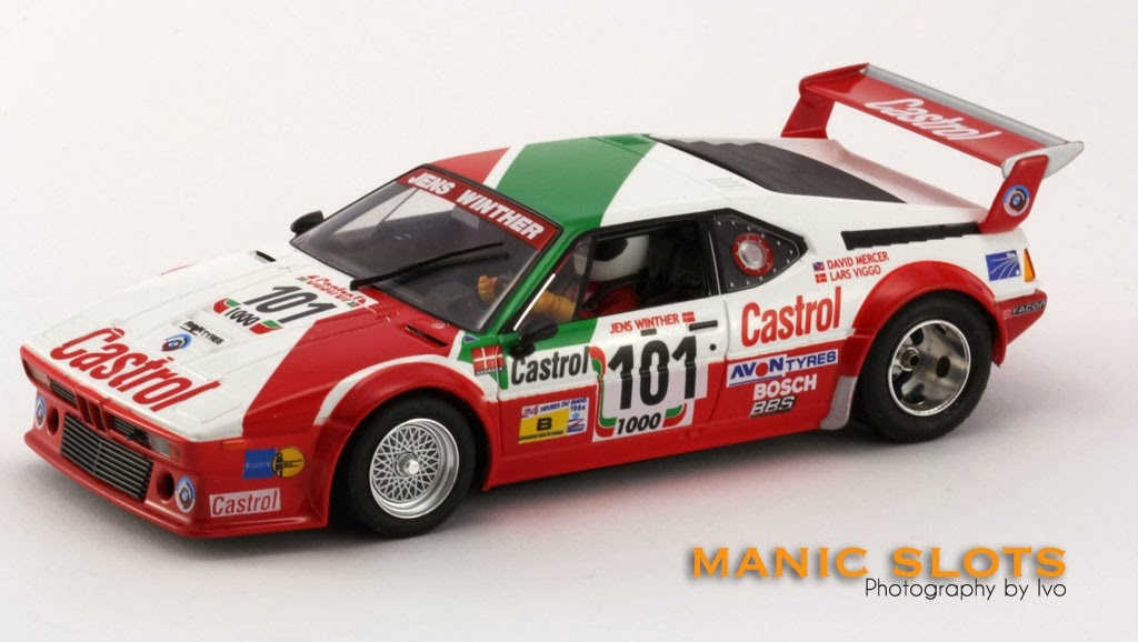 manicslots 39 slot cars and scenery gallery fly bmw m1 99041. Black Bedroom Furniture Sets. Home Design Ideas