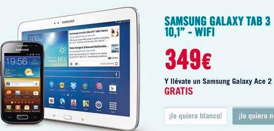 Samsung Galaxy Ace 2 gratis al comprar un tablet en los 'Días Locos' de Phone House