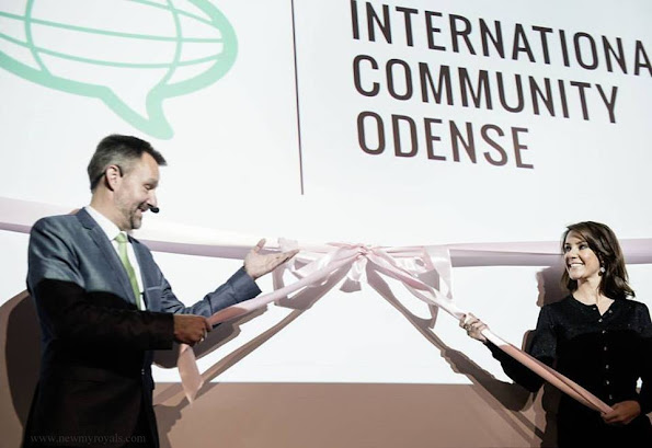 International Community Odense is officially launched by Princess Marie of Denmark and Deputy Mayor Steen Møller.