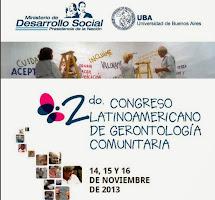 Adultos en la Web en el Congreso de Gerontología Comunitaria 2013