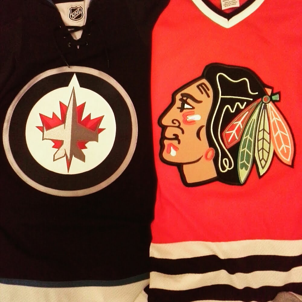 A Blackhawks fan living in the land of the Jets