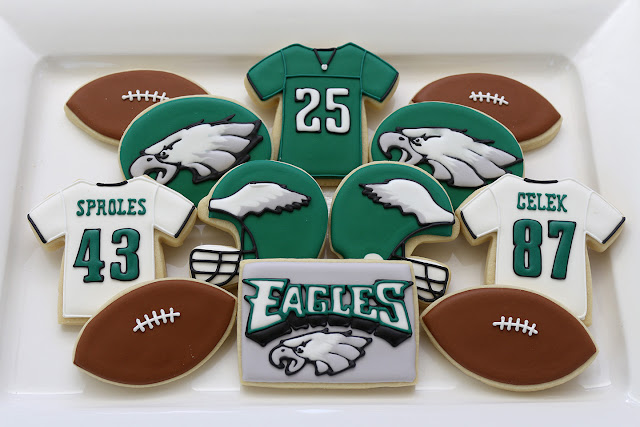 philadelphia eagles football cookies