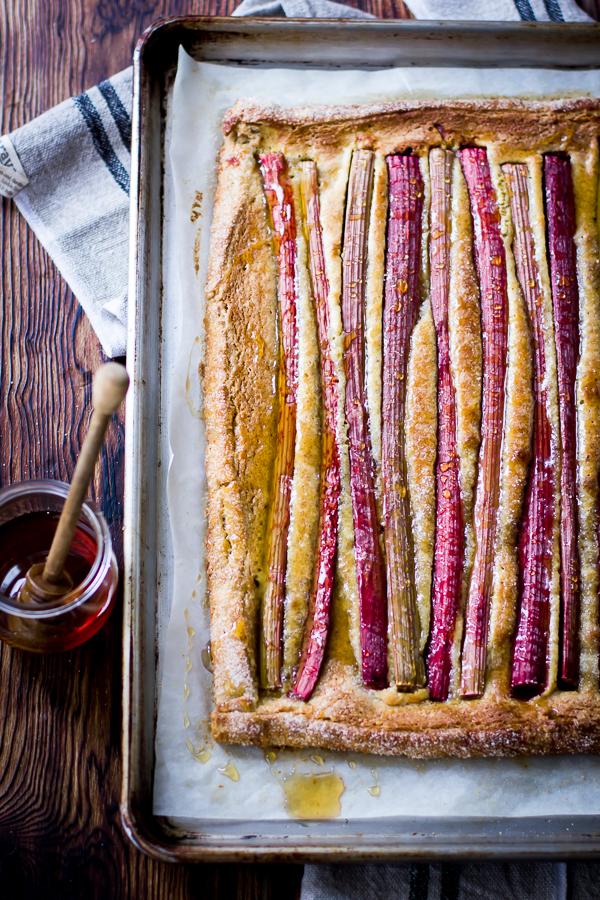 how to make rhubarb tart recipe