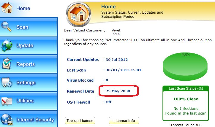 how to get free antivirus for lifetime