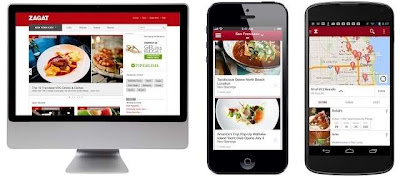 Zagat for Web, Android and iOS devices, locate your favourite nightspot, hotel or restaurant and check out the reviews for free